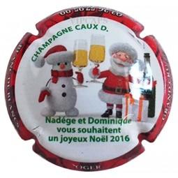 Capsule de champagne JEROBOAM CAUX Dominique Noël 2016