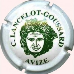 Capsule champagne Lancelot Goussard verte N°5
