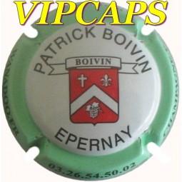Capsule champagne BOIVIN Pactrick contour vert pale