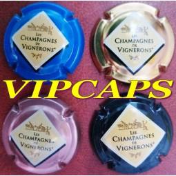 """capsules champagne GENERIQUES 665 x """"les Champagnes de Vignerons"""""""