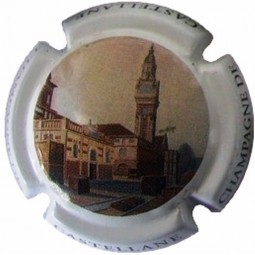 Capsule champagne Castellane centenaire de la tour 95e
