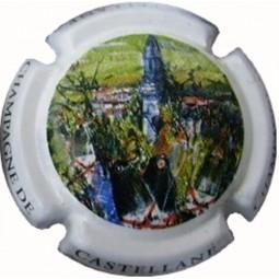 capsule champagne De Castellane centenaire de la tour 95i