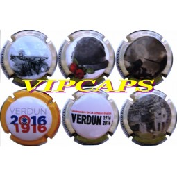Capsule champagne Sonnet-Gillot centenaire Verdun 1916-2016