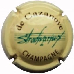 "Capsule de champagne De Cazanove ""Stradivarius"" 7a au lambert"