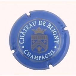 Capsule champagne Château de bligny bleu N°4