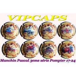 Capsules Champagne Manchin Pascal POMPIER 17 à 24 /33