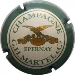 capsule champagne Martel n 15 verte