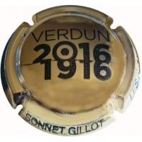 Capsule Champagne Sonnet Gillot Verdun 1916-2016 Plaquée OR