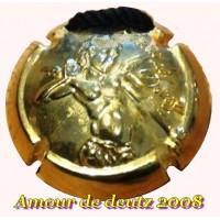 Capsule champagne amour de DEUTZ 2008 collier bijoux