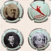 """nouvelle série capsule de champagne COLLON """" portraits"""""""