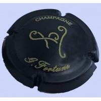 Capsule de champagne rare FORTUNE Guy Noir