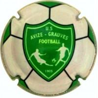 capsule champagne commémorative Avize-Grauves US Football club 2017-2018