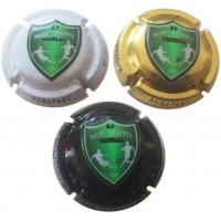 Capsules de champagne AGRAPART Avize-Grauves US Football club en relief petit tirage
