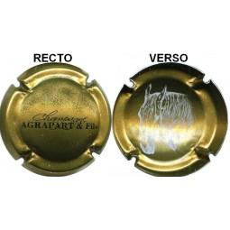 """capsule de champagne AGRAPART """"cuvée vénus"""" avec tête de cheval"""