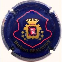 Capsule de champagne Herbert beaufort bleu foncé