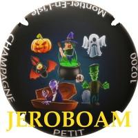 """Capsule de champagne de Jéroboam PETIT """"Halloween 2018"""" 10200 montier"""