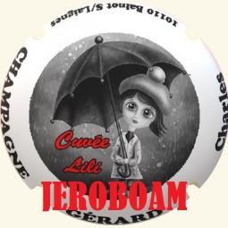 """Jéroboam capsule de champagne GERARD Charles """"cuvée Lili"""""""