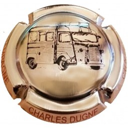capsule champagne DUGNE Charles citroen type H Plaqué OR